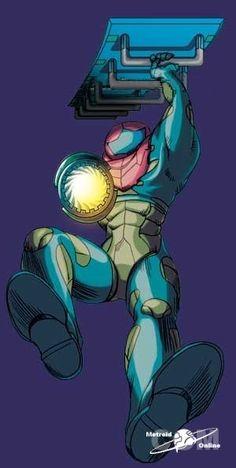 Metroid fusion BOX Robot