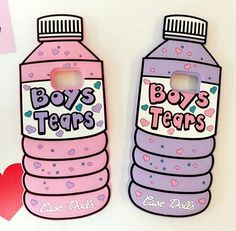 Cute 3D Samsung Galaxy S7 edge Cases love heart icecream Cartoon bottle boy tear…