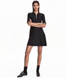 Korte jurk   Zwart   Dames   H&M NL