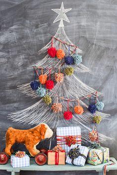 Chalk It Up - We're Loving These Christmas Tree Alternatives - Photos