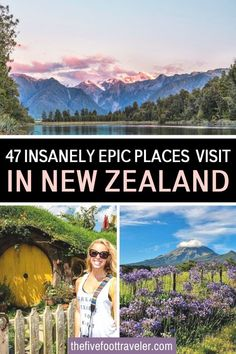 This is the 47 awe inspiring places to visit in New Zealand to plan the perfect trip. One of the most beautiful country on earth, and still relatively untouched, New Zealand has so many things to discover! Here is my list of the best things to do in New Zealand. New Zealand Travel Tips | New Zealand Travel Guide | New Zealand Itinerary | What to do in New Zealand | #newzealand #traveltips