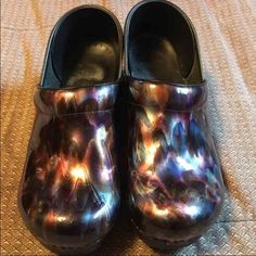 Women's Dansko Clogs Ripple colors. Worn a couple times and bought new ones. Dansko Shoes Mules & Clogs