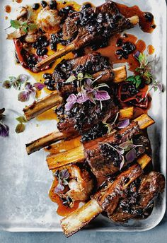 DONNA'S BEEF RIBS DOUCHI [China, Modern] [Donna Hay]