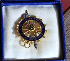 Daughters of the American Revolution pin