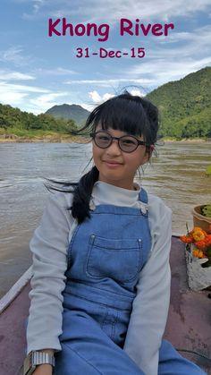 Khong river in Lao