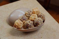 receita de ovo de páscoa de paçoca, com docinhos para vender