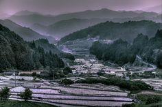 Thousand Terraced Rice FieldsⅡ by Hidenobu Suzuki, via 500px