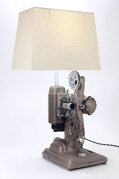 Vintage 1940's Revere 8mm Movie Projector Lamp, Model 85 -- perfect for home theater or man-cave. Free Shipping! by RetroPickers on Etsy https://www.etsy.com/listing/204439758/vintage-1940s-revere-8mm-movie-projector