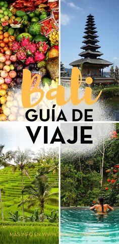 [GUÍA] Mapa, qué ver, dormir... si vas a viajar a Bali, aquí tienes todo lo que necesitas. #Balipaisajes #Balihoteles #Balifotos
