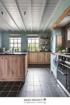 Nautical Bathroom Decor, French Country Kitchens, Concrete Kitchen, Design Your Home, Interior Design Kitchen, New Homes, Home Decor, Cosy, Modern Kitchens