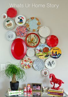 Gorgeous Plate Wall