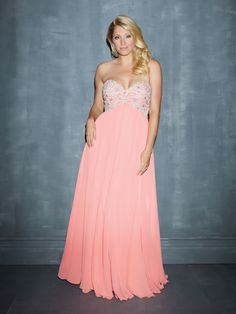 Paisley Embroidered Bodice by Night Moves by Allure, $358, nightmovesprom.com   - Seventeen.com