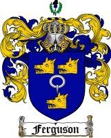 $8.99 Pay for Ferguson Family Crest / Ferguson Coat of Arms