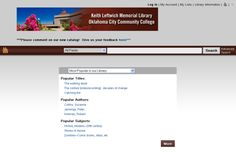 """Beta test our new OCCC Library Catalog! It's not 100% finished, but it's mostly ready… The primary changes are that the results are now returned based on relevance and that it works like Google… In that if you make a spelling error, the catalog will guess as to what you meant, and will try to complete the search for you! You can also narrow your catalog results by multiple """"facets"""" on the left hand side andcreate permanent lists of items you find in the Catalog!   #reference"""