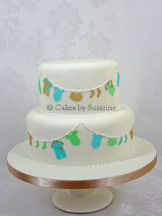 bronniebakes: How to make a Baby Shower Clothesline Cake – Part 1
