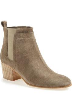 VINCE 'Hallie' Round Toe Bootie (Women). #vince #shoes #boots