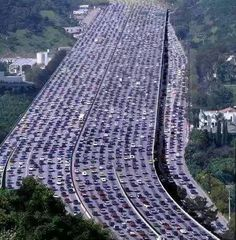 World's longest traffic jam...Beijing, China...60 miles long...lasted 11 days!