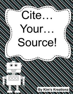 How do books cite sources?
