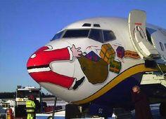Oh no - Santa!