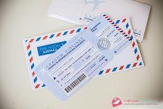 bilet lotniczy zaproszenie