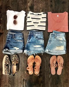 Good Summer Outfits For School lot Womens Clothes Resale Near Me or Best Summer Casual Outfits Cute Summer Outfits, Summer Wear, Spring Summer Fashion, Casual Summer Clothes, Ootd Summer Casual, Summer Clothing, Comfortable Summer Outfits, Cute Vacation Outfits, Dress Summer
