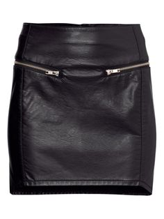 Buy It: Leather Skirt!