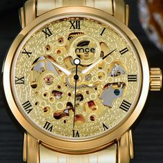 >> Click to Buy << Relogio Masculino Montre Homme Orologio Uomo Automatic Mechanical Watch Male Watch Gold Wristwatches Men MCE Watches 48 #Affiliate