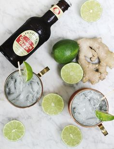 Moscow Mule Mocktail | The Merry Thought