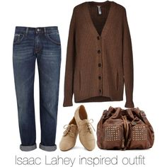"""Isaac Lahey inspired outfit/ Teen Wolf"" by tvdsarahmichele on Polyvore"