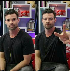 Daniel Gillies at Young Hollywood Studios Posted by The Originals News Daniel Gillies, Joseph Morgan, Hollywood Studios, John Wick, Lust, Daddy, Husband, The Originals, Mens Tops