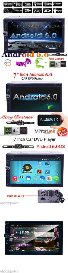 Video In-Dash Units w GPS: Android 6.0 4G Wifi 7 Double 2Din Car Radio Stereo Dvd Player Gps Nav Bluetooth -> BUY IT NOW ONLY: $178.99 on eBay!