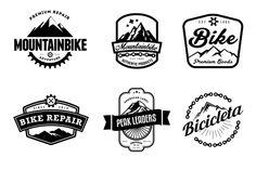 Mountain Bike Retro Badges - Logos - 2