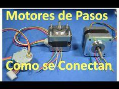 ✅ Como identificar bobinas de Motores de Pasos 4, 5, 6 y 8 cables ( CNC y 3D impresora) A4988  #6 - YouTube
