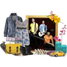 I'm not really a fan of the Jonas Brothers but I love this outfit.