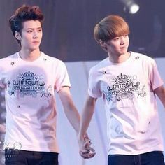 This couple :)) what do we call them????? #sehun #luhan #smtown ...