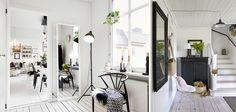 De la lumière dans votre appartement.  Quelques idées pour bien placer les points de lumière chez vous.  Lumière dans le hall d'entrée.