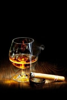 Cigar & drink all for me