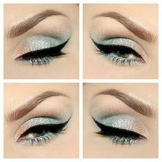 Mermaid eyes, this is so pretty!!