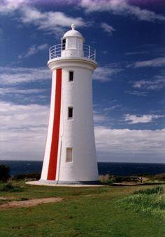 Mersey Bluff lighthouse near devonport Tasmania