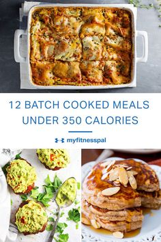 From freezer friendly breakfasts to quick filling dinners, we've got your healthy batch cooking recipes covered.