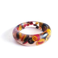 Pulseras Rondelles Finas MULTI ! #multicolor #buttons #bracelet #bangles