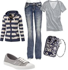 """""""Comfy casual"""" by meadillo on Polyvore"""
