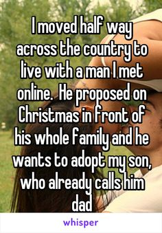 Whisper App. Confessions on online dating.