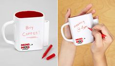 For the doodler: | 35 Awesome Mugs Every Coffee Lover Will Appreciate