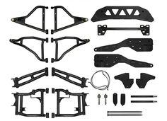 """Polaris RZR 900 XC to 900 S Suspension Conversion Kit with 3"""" Lift Kit"""