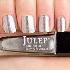 Julep Missy. Titanium metallic nail polish. It girl.