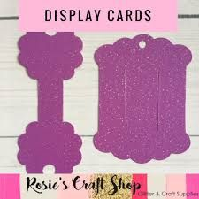 Image Result For Free Hair Bow Card Holder Template Display Cards Bow Display Cards