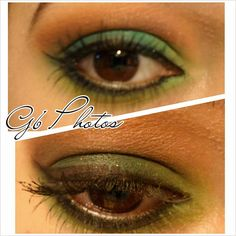 Fall green eyes <3 love the Green!