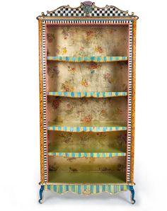 MacKenzie-Childs Arlecchino Bookcase #Affiliate