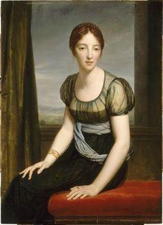 Portrait  de la comtesse Regnault de Saint-Jean d'Angély, née Laure de Bonneuil…